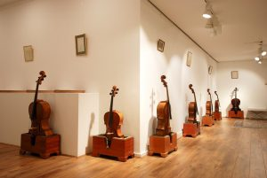 3/4 and 1/2 size cellos